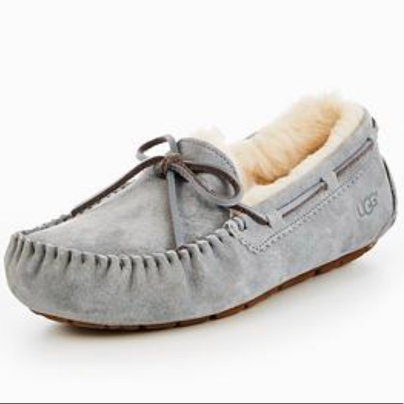 Brand new authentic metallic ugg Moccasins